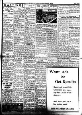 The Malvern Leader from Malvern, Iowa on May 18, 1933 · Page 7