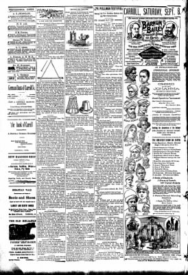 The Carroll Sentinel from Carroll, Iowa on August 31, 1894 · Page 2
