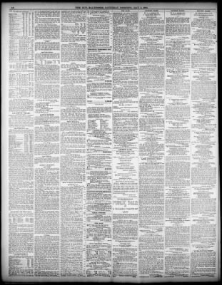 c4b7ed20ad The Baltimore Sun from Baltimore, Maryland on May 4, 1901 · 10