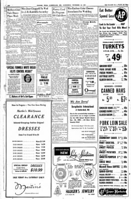 Cumberland Evening Times from Cumberland, Maryland on November 16, 1955 · Page 6
