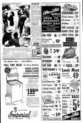 Redlands Daily Facts from Redlands, California on May 5, 1965 · Page 10