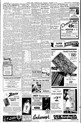Cumberland Evening Times from Cumberland, Maryland on November 16, 1955 · Page 14
