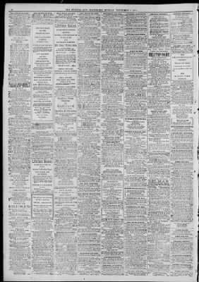 The Evening Sun from Baltimore, Maryland on November 9, 1914