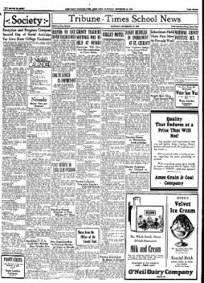 Ames Daily Tribune from Ames, Iowa on September 23, 1933 · Page 6