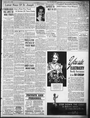 The News-Palladium from Benton Harbor, Michigan on May 3, 1938 · 3
