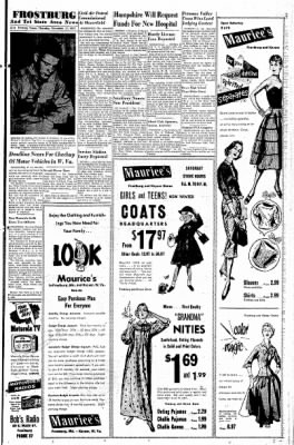 Cumberland Evening Times from Cumberland, Maryland on November 17, 1955 · Page 16