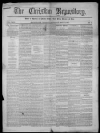 Sample Christian Repository front page