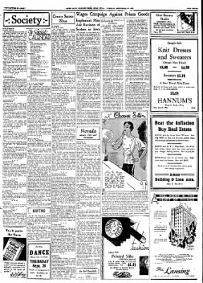Ames Daily Tribune from Ames, Iowa on September 26, 1933 · Page 8
