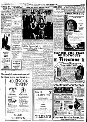 Ames Daily Tribune from Ames, Iowa on September 26, 1933 · Page 11