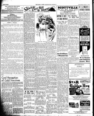The Ludington Daily News from Ludington, Michigan on November 4, 1939 · Page 4