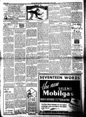 The Malvern Leader from Malvern, Iowa on July 6, 1933 · Page 2