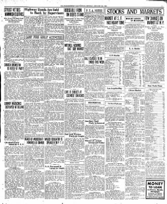 The Bakersfield Californian from Bakersfield, California on January 30, 1933 · Page 11