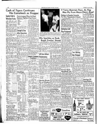 Ironwood Daily Globe from Ironwood, Michigan on July 29, 1965 · Page 20