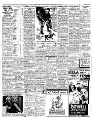 Iola Daily Register And Evening News from Iola, Kansas on March 15, 1933 · Page 6
