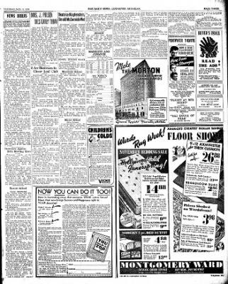 The Ludington Daily News from Ludington, Michigan on November 7, 1939 · Page 3