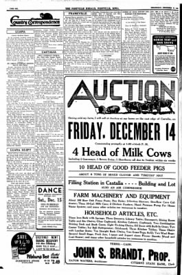 Postville Herald from Postville, Iowa on December 12, 1945 · Page 6
