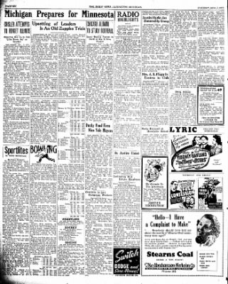 The Ludington Daily News from Ludington, Michigan on November 7, 1939 · Page 6