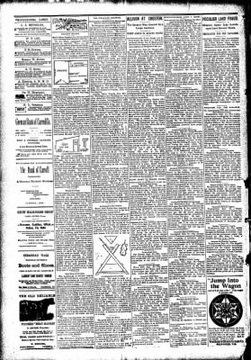 The Carroll Sentinel from Carroll, Iowa on September 28, 1894 · Page 2