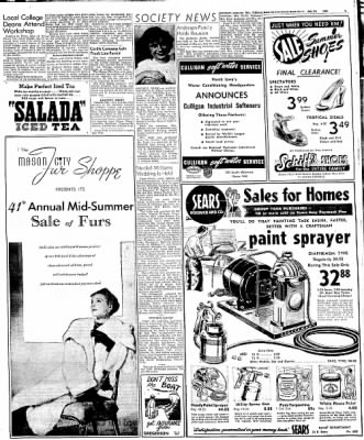 Globe-Gazette from Mason City, Iowa on July 21, 1948 · Page 11