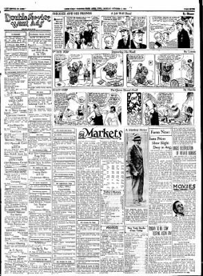 Ames Daily Tribune from Ames, Iowa on October 2, 1933 · Page 8
