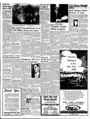 The Austin Daily Herald from Austin, Minnesota on December 30, 1958 · Page 8