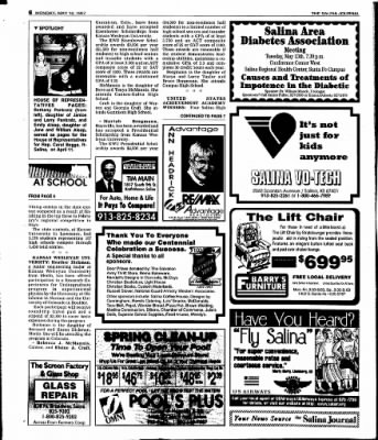 The Salina Journal from Salina, Kansas on May 12, 1997 · Page 22