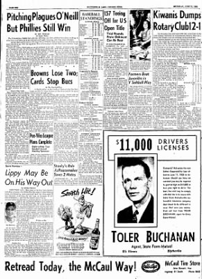 The Courier News from Blytheville, Arkansas on June 11, 1953 · Page 6