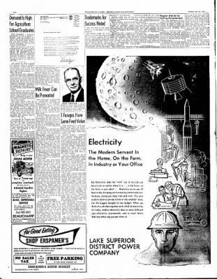 Ironwood Daily Globe from Ironwood, Michigan on July 30, 1965 · Page 20