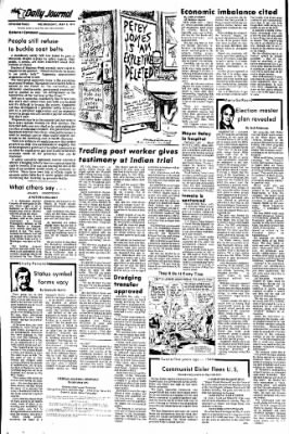 The Daily Journal from Fergus Falls, Minnesota on May 8, 1974 · Page 4