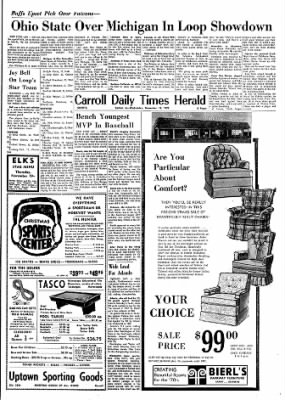Carrol Daily Times Herald from Carroll, Iowa on November 18, 1970 · Page 59