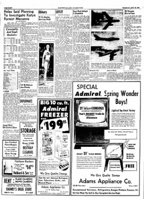 The Courier News from Blytheville, Arkansas on April 26, 1956 · Page 8