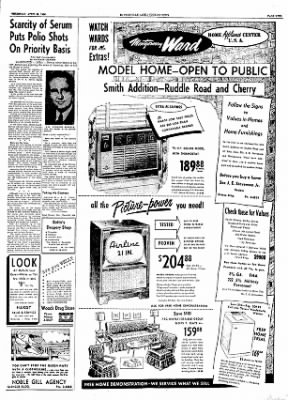 The Courier News from Blytheville, Arkansas on April 26, 1956 · Page 9
