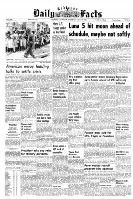 Redlands Daily Facts from Redlands, California on May 12, 1965 · Page 1