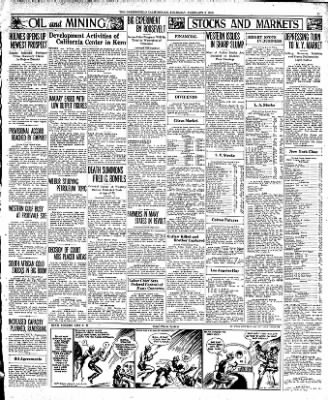 The Bakersfield Californian from Bakersfield, California on February 2, 1933 · Page 15
