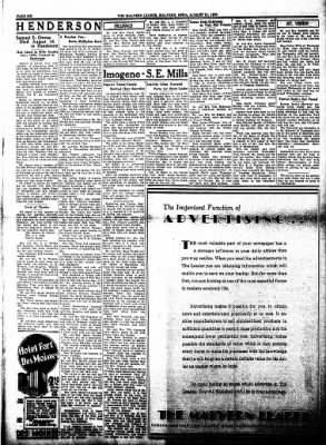 The Malvern Leader from Malvern, Iowa on August 31, 1933 · Page 6