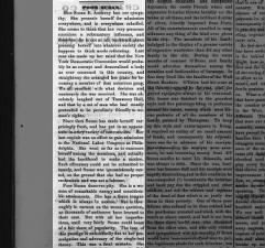 Excerpt from an 1869 editorial critical of Susan B. Anthony