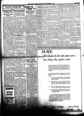 The Malvern Leader from Malvern, Iowa on September 7, 1933 · Page 3