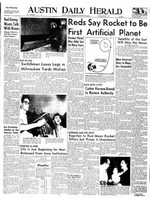 The Austin Daily Herald from Austin, Minnesota on January 3, 1959 · Page 1