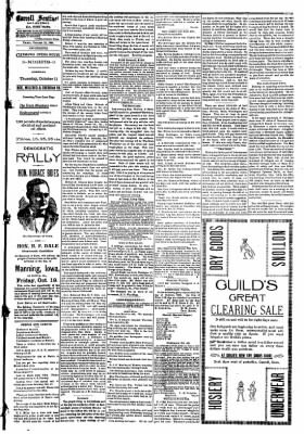 The Carroll Sentinel from Carroll, Iowa on October 12, 1894 · Page 7