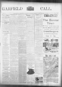 Sample Garfield County Call front page