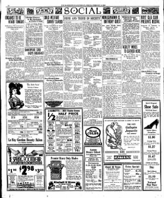 The Bakersfield Californian from Bakersfield, California on February 3, 1933 · Page 10