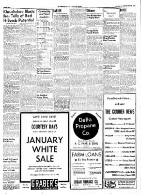 The Courier News from Blytheville, Arkansas on December 29, 1955 · Page 2