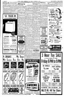Cumberland Evening Times from Cumberland, Maryland on November 25, 1955 · Page 20