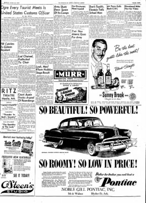 The Courier News from Blytheville, Arkansas on June 12, 1953 · Page 9