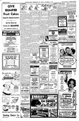 Cumberland Evening Times from Cumberland, Maryland on November 25, 1955 · Page 28