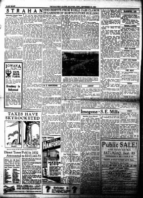 The Malvern Leader from Malvern, Iowa on September 21, 1933 · Page 8