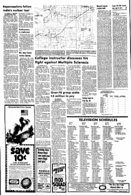 The Daily Journal from Fergus Falls, Minnesota on May 22, 1974 · Page 1
