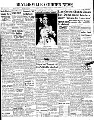 The Courier News from Blytheville, Arkansas on July 2, 1948 · Page 1