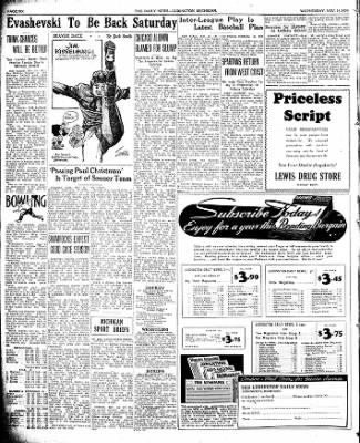 The Ludington Daily News from Ludington, Michigan on November 15, 1939 · Page 6