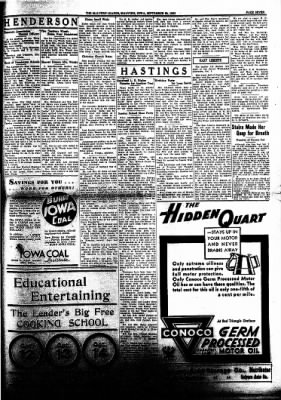 The Malvern Leader from Malvern, Iowa on September 28, 1933 · Page 7